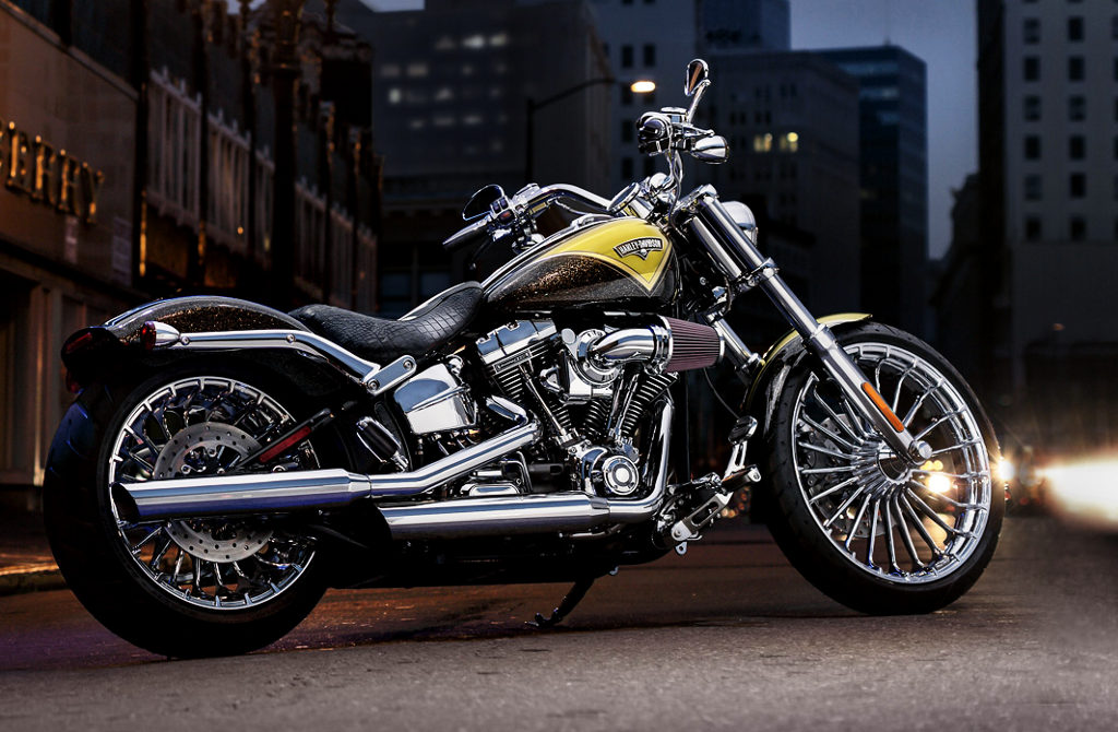 For 2013, Harley is introducing the all new CVO Breakout, a stunning