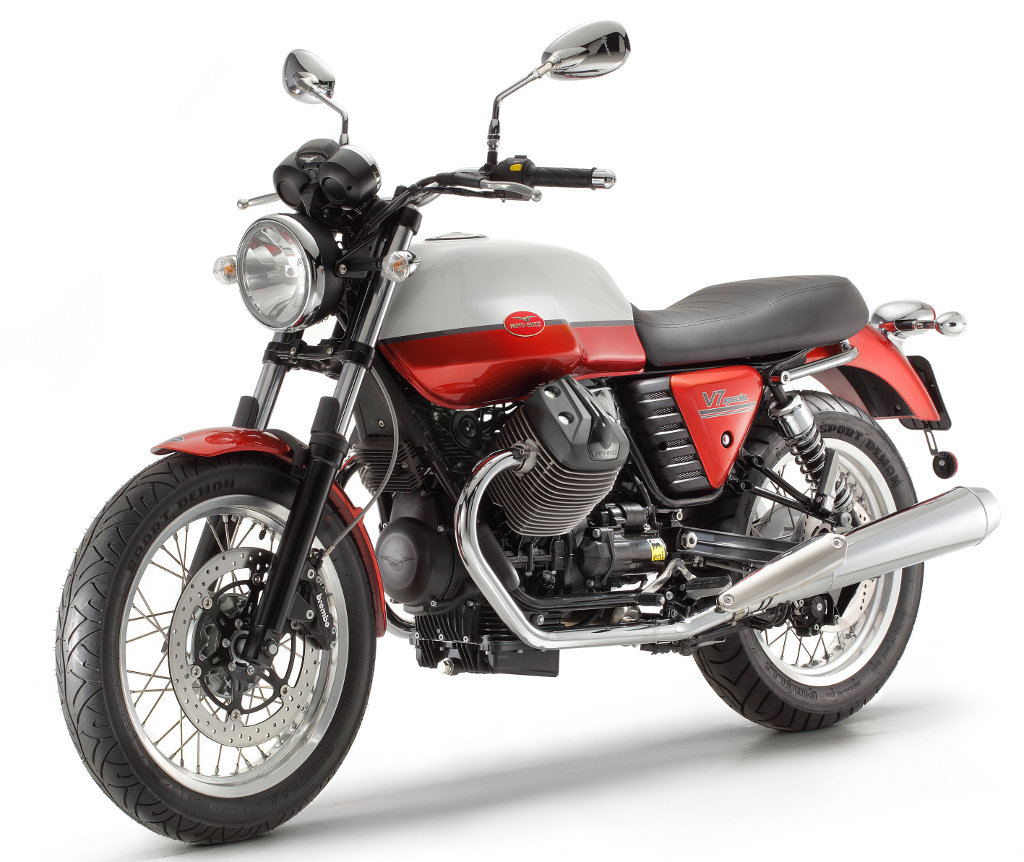 md first look 2013 moto guzzi v7 stone racer and special motorcycle. Black Bedroom Furniture Sets. Home Design Ideas