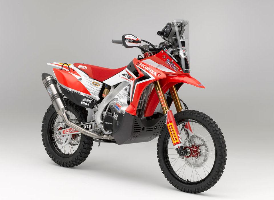 Honda Production Dakar Rally Racer Introduced Motorcycledaily