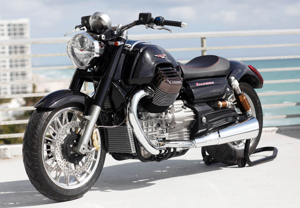 Honda Dealer Miami >> Moto Guzzi California 1400 Production Imminent; Engine Specs Revealed « MotorcycleDaily.com ...