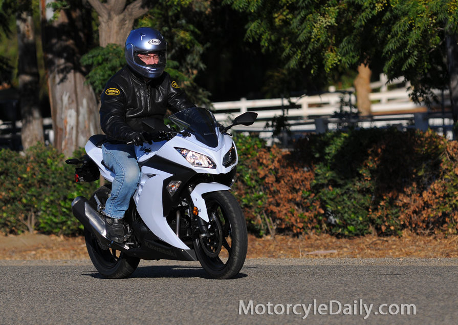 2013 Kawasaki Ninja 300: MD Ride Review « MotorcycleDaily.com ...