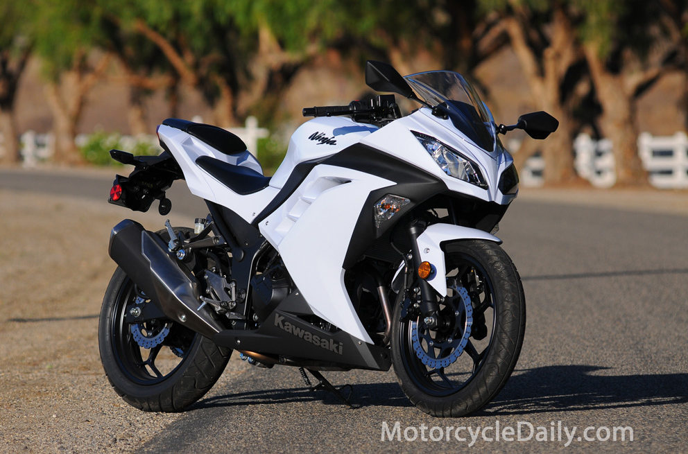 2013 Kawasaki Ninja 300 MD Ride Review MotorcycleDaily