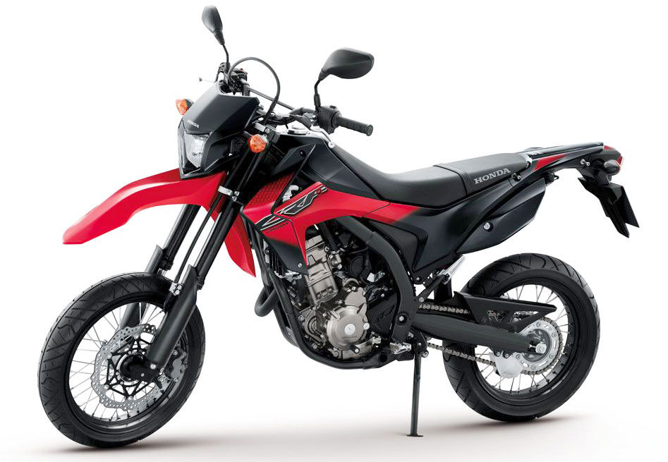 honda introduces crf250m supermoto: should find its way to western