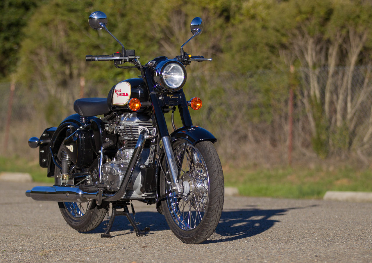Md Double Take 2012 Royal Enfield Classic C5 Motorcycledailycom