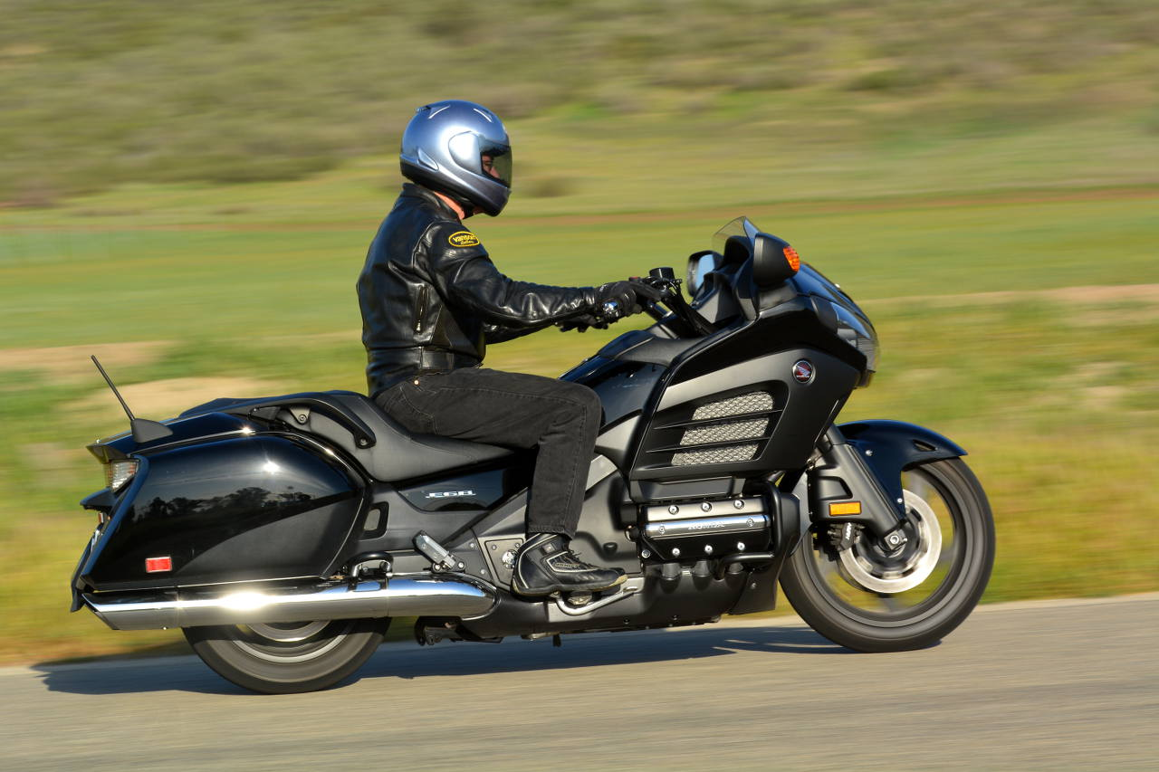 MD Ride Review: 2013 Honda Gold Wing F6B « MotorcycleDaily ...