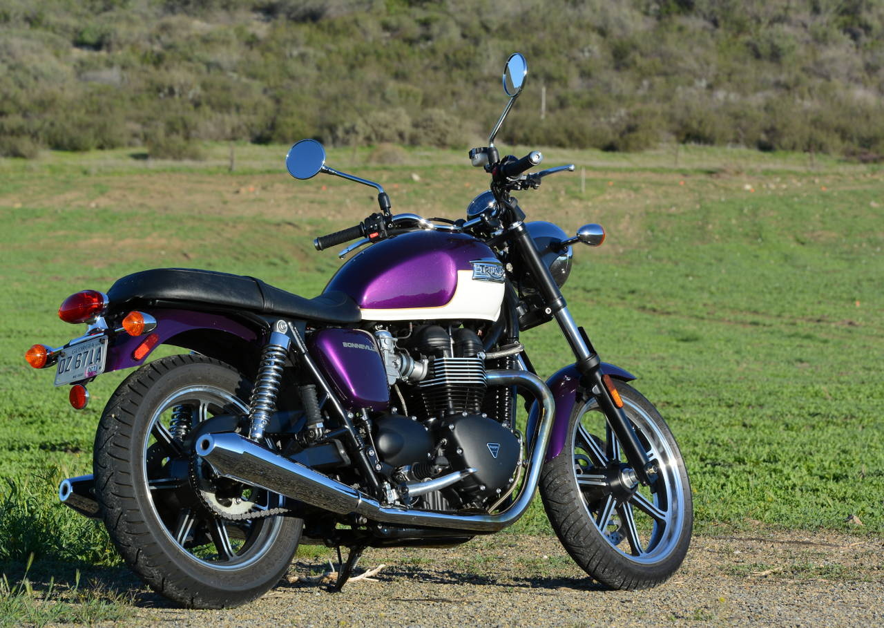 2013 Triumph Bonneville: MD Ride Review « MotorcycleDaily.com ...
