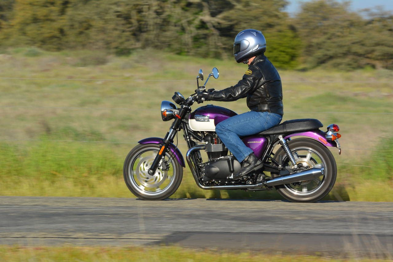 2013 Triumph Bonneville Md Ride Review Motorcycledailycom