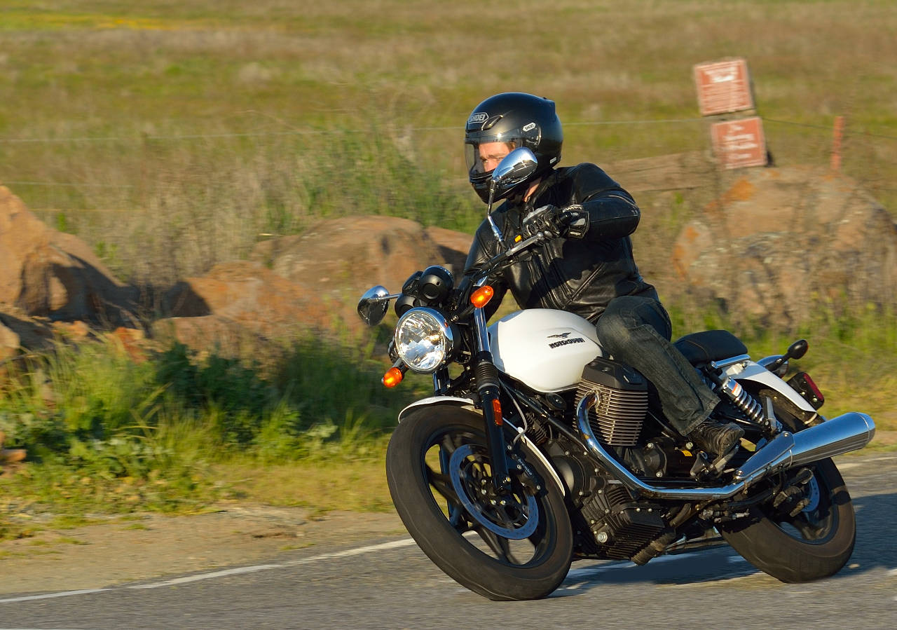 2013 Moto Guzzi V7 Stone Md Ride Review