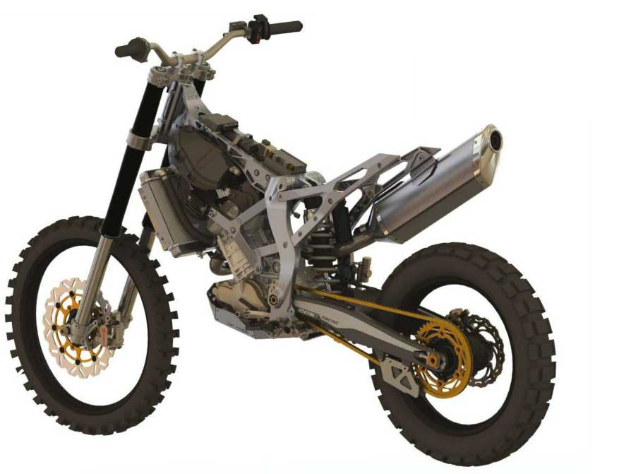 Ccm Gp 450 Adventure So You Say You Want A Light Bike