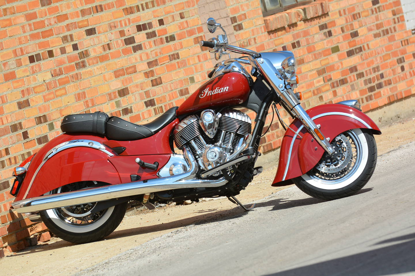 Indian Motorcycle Company Reveals All-New 2014 Indian Chief