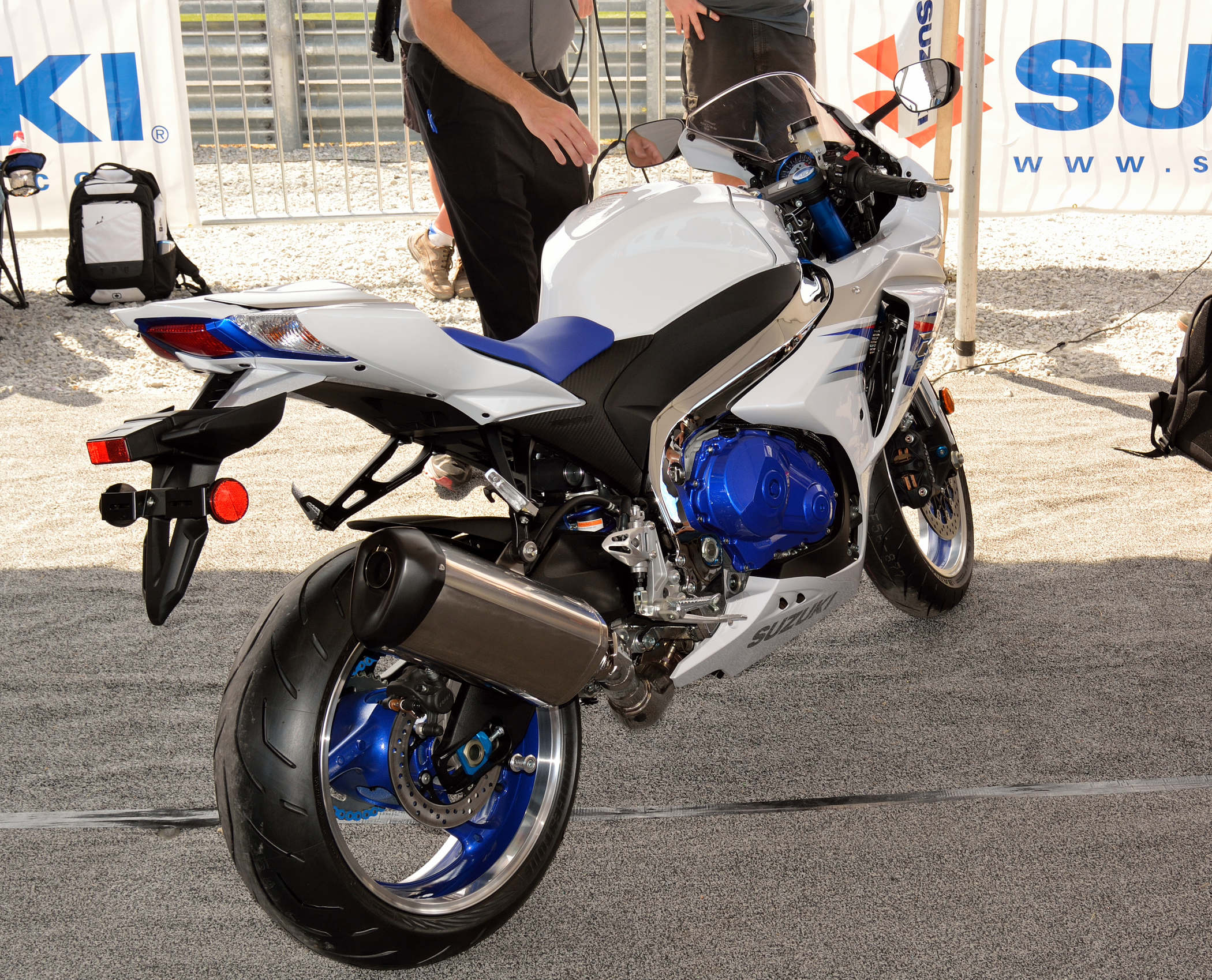 2014 Gsxr 1000 1000 with a new model