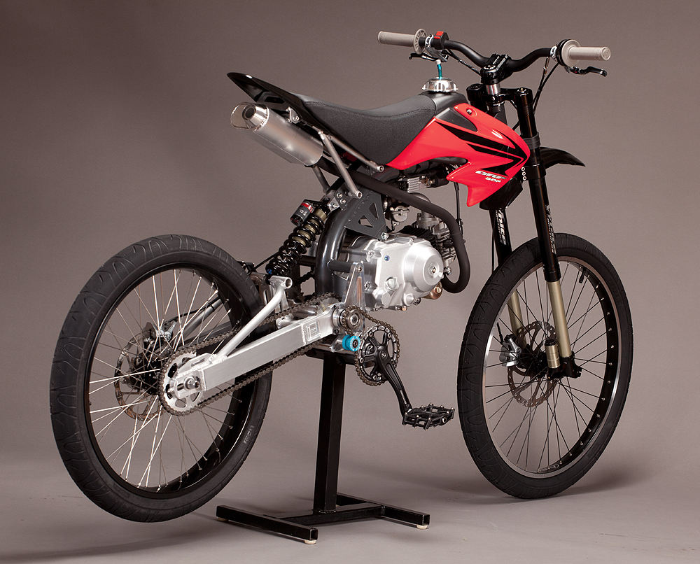 Motoped A New Kind Of Hybrid Now With Video Motorcycledaily