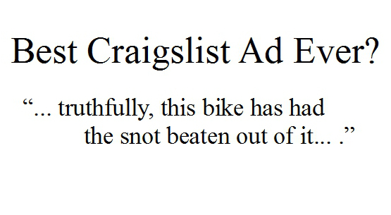 Craigslist Motorcycle
