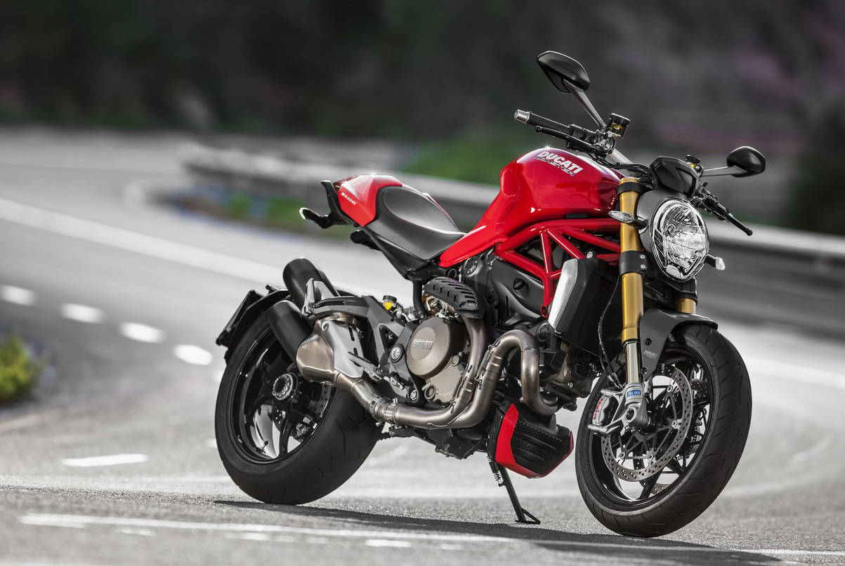 ducati announces new monster 1200 and monster 1200 s big power nakeds updated with u s. Black Bedroom Furniture Sets. Home Design Ideas