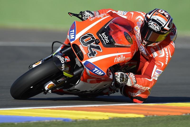 Dovizioso_Ducati@Valencia test