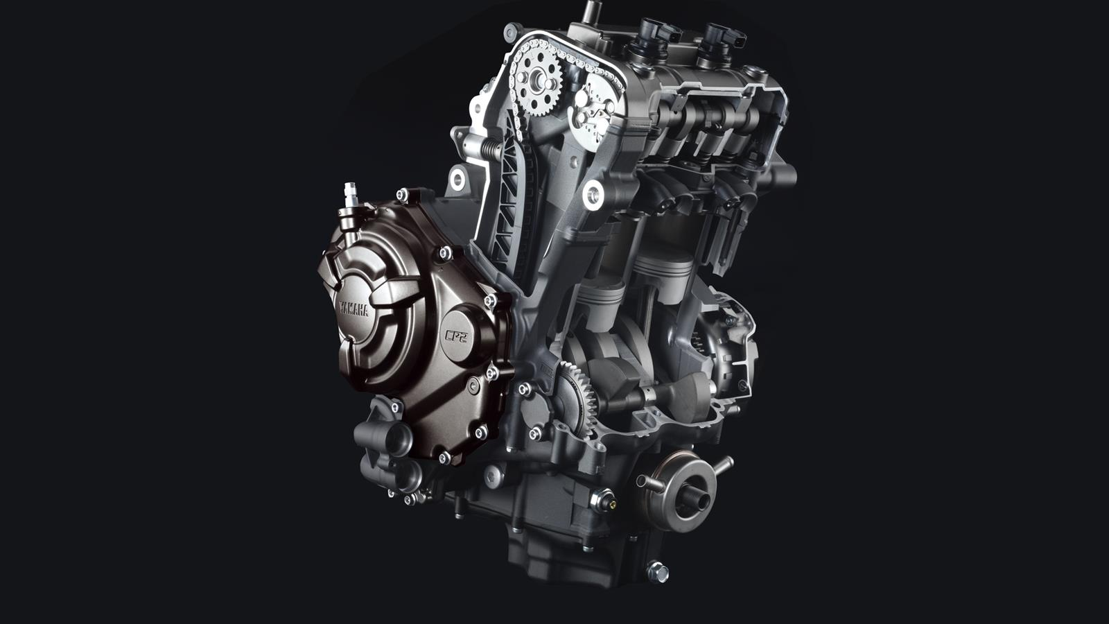 Yamaha Introduces Mt 07 Lightweight Affordable 689cc Twin Engine Wiring Yammid1 5