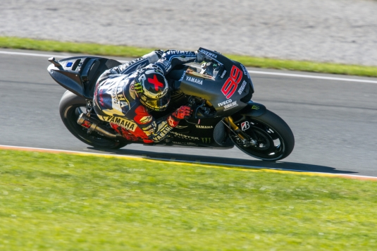 Yamaha@Valencia test
