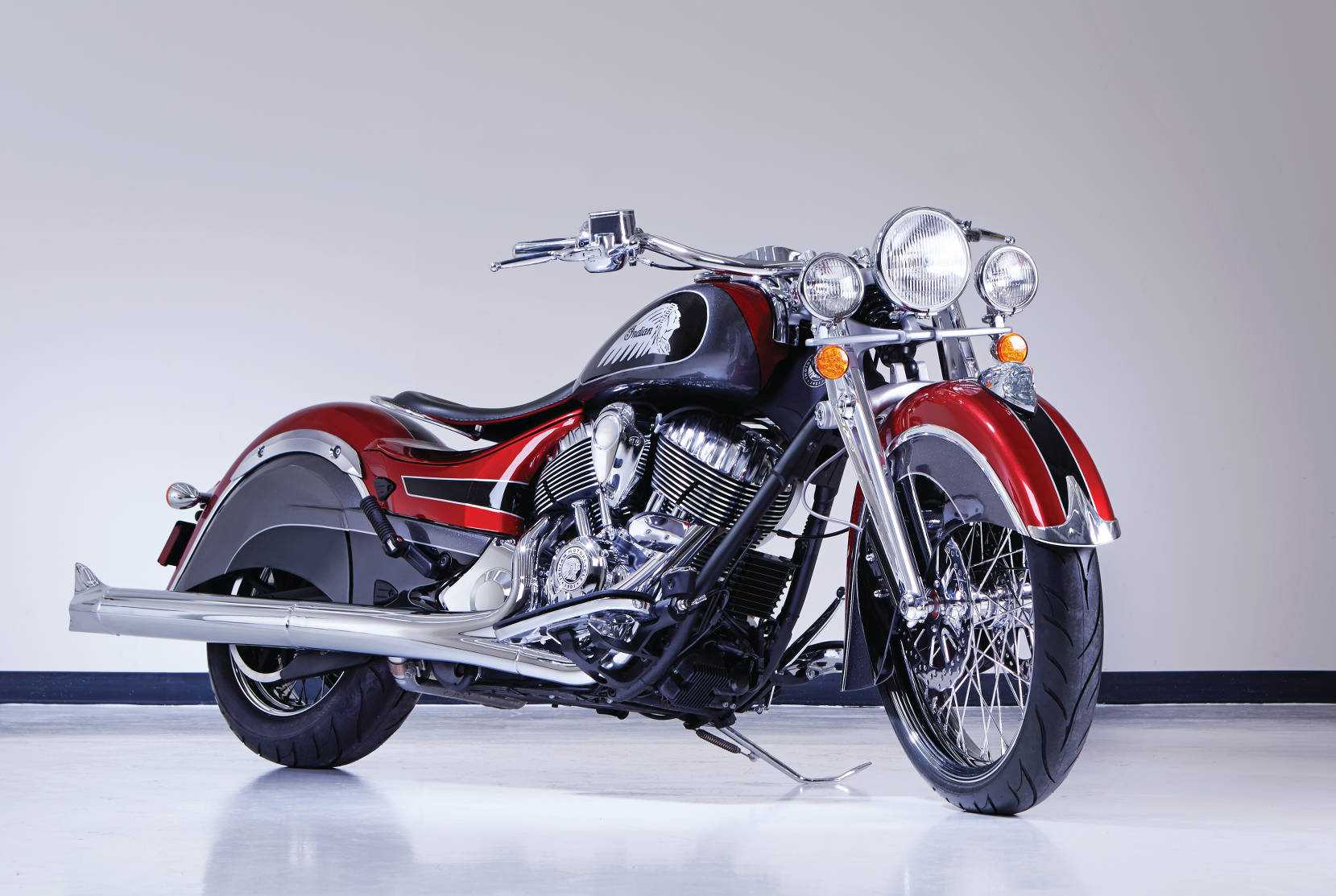 Indian Big Chief Custom Meets New York MotorcycleDaily