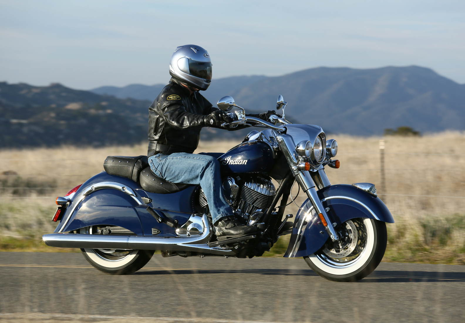 2014 indian chief classic: md ride review « motorcycledaily
