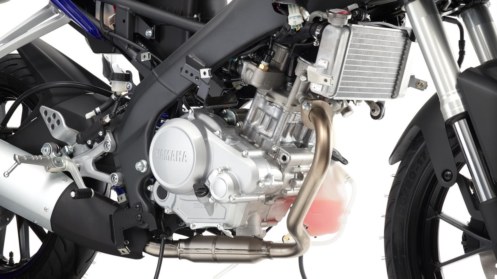 Yamaha S 2015 Yzf R125 Illustrates Massive Effort On Small