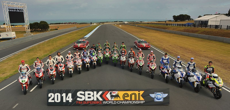 WSBK Group Photo