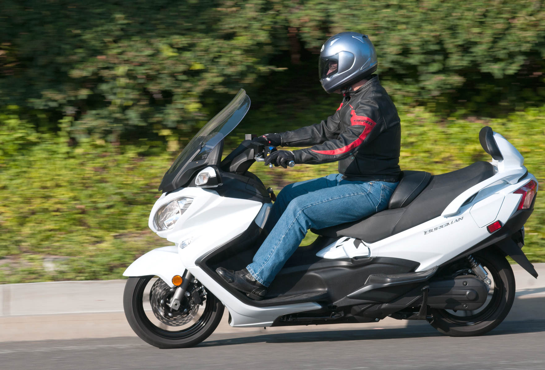 The first scooter tested by MD was the 2002 Honda Silver Wing. Up until  that point, it seemed rather unlikely that MD would test scooters at all.