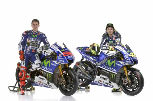 Movistar Yamaha Motogp Take The Covers Off To Kick Start The 2014