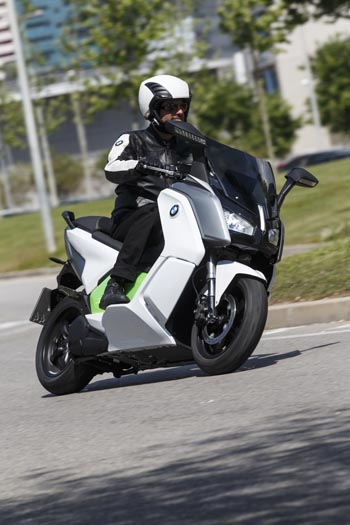 BMW C Evolution, International Media Launch, Barcelona 2014
