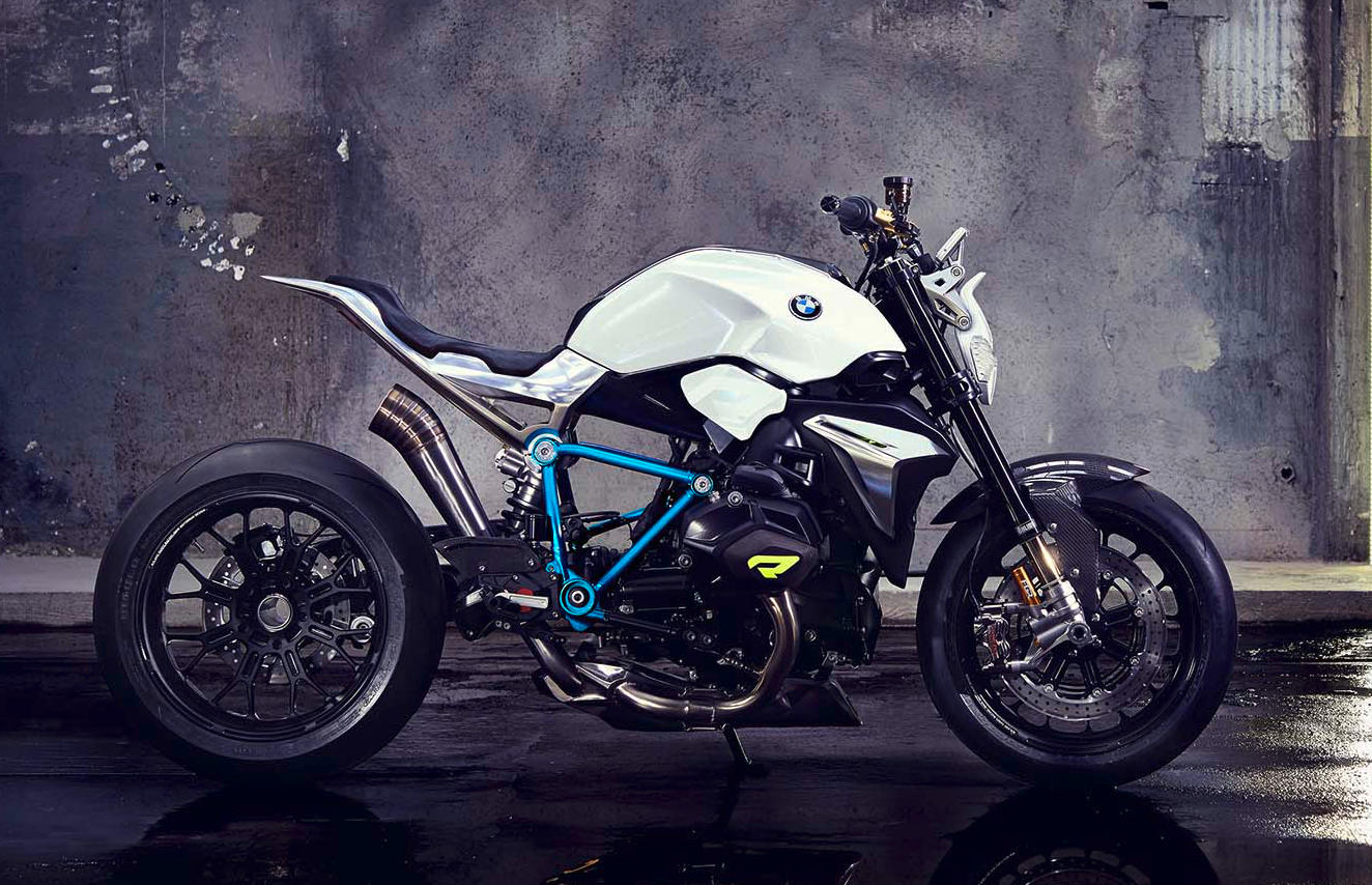 BMW Concept Roadster Displays Boldness of Design With Function ... for Bike Headlight Design  183qdu