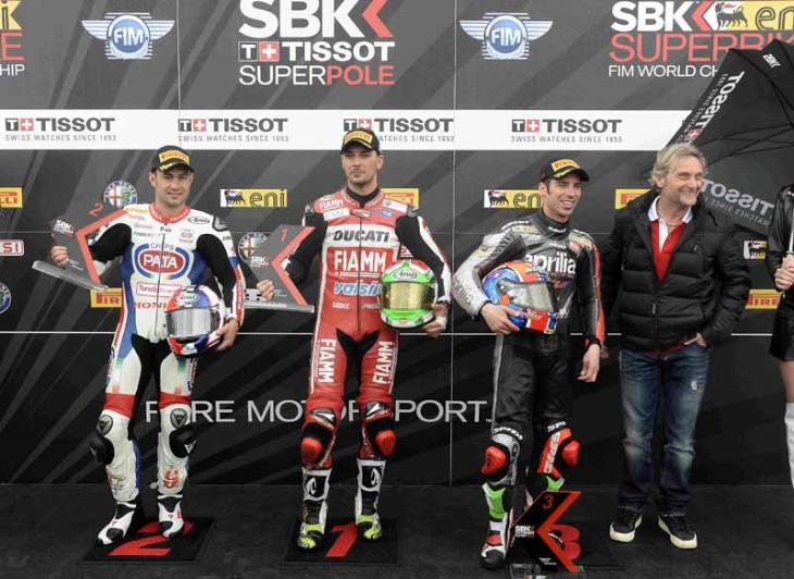 Tissot-Superpole top 3