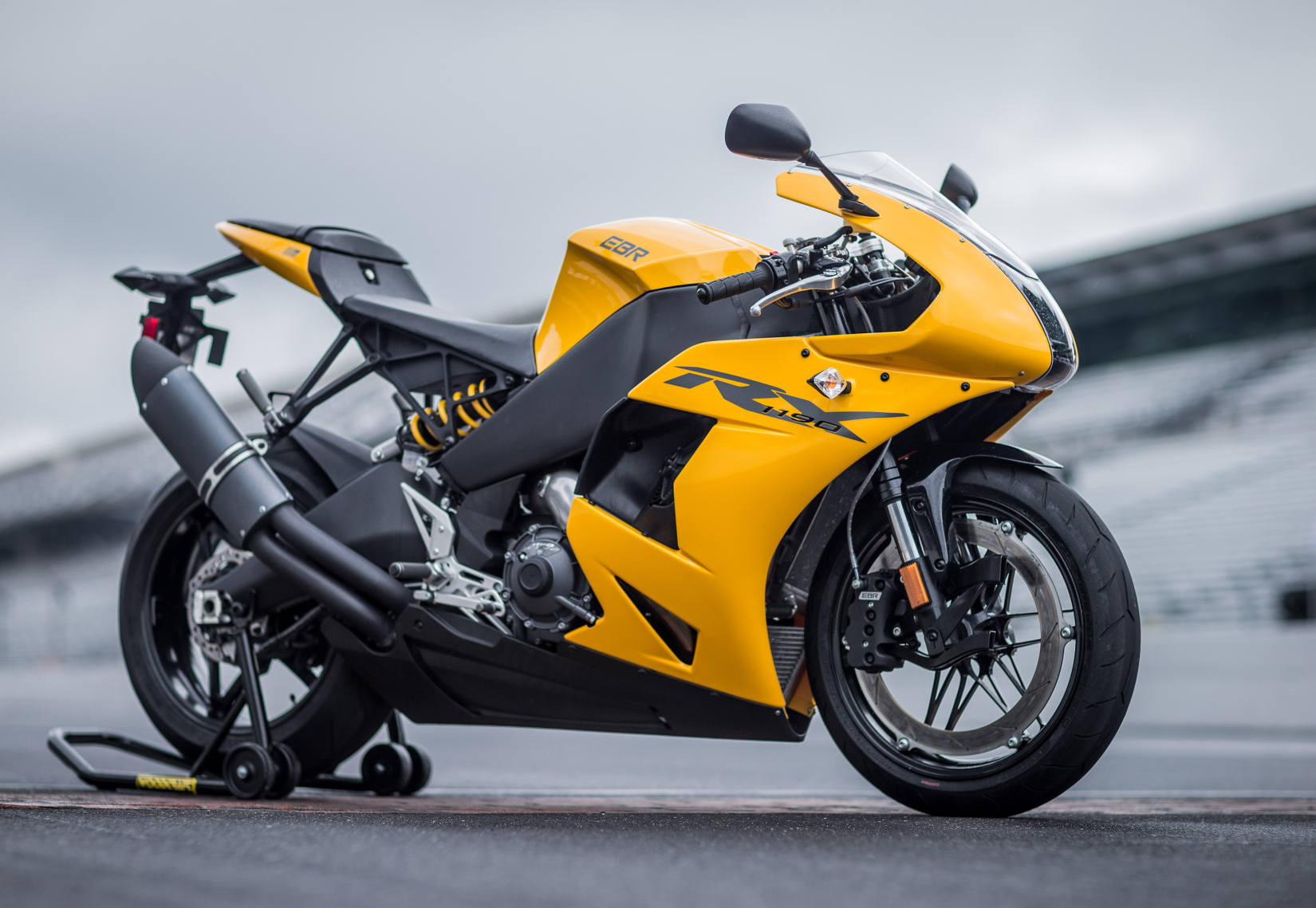 Erik buell racing 1190rx part 2 footpegs and the future