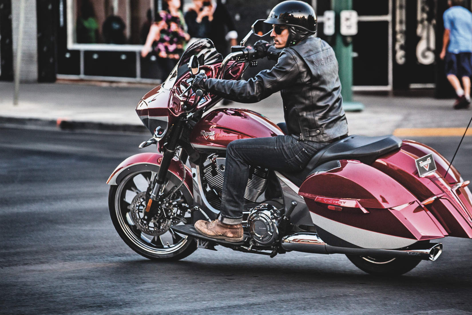 2015 Victory Magnum Announced Bagger With High Style