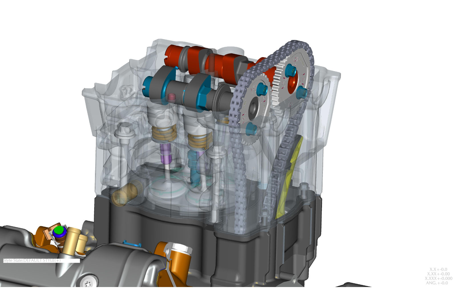 Cad Drawings Reveal Indian Scout Engine Design 2001 Wiring Diagram