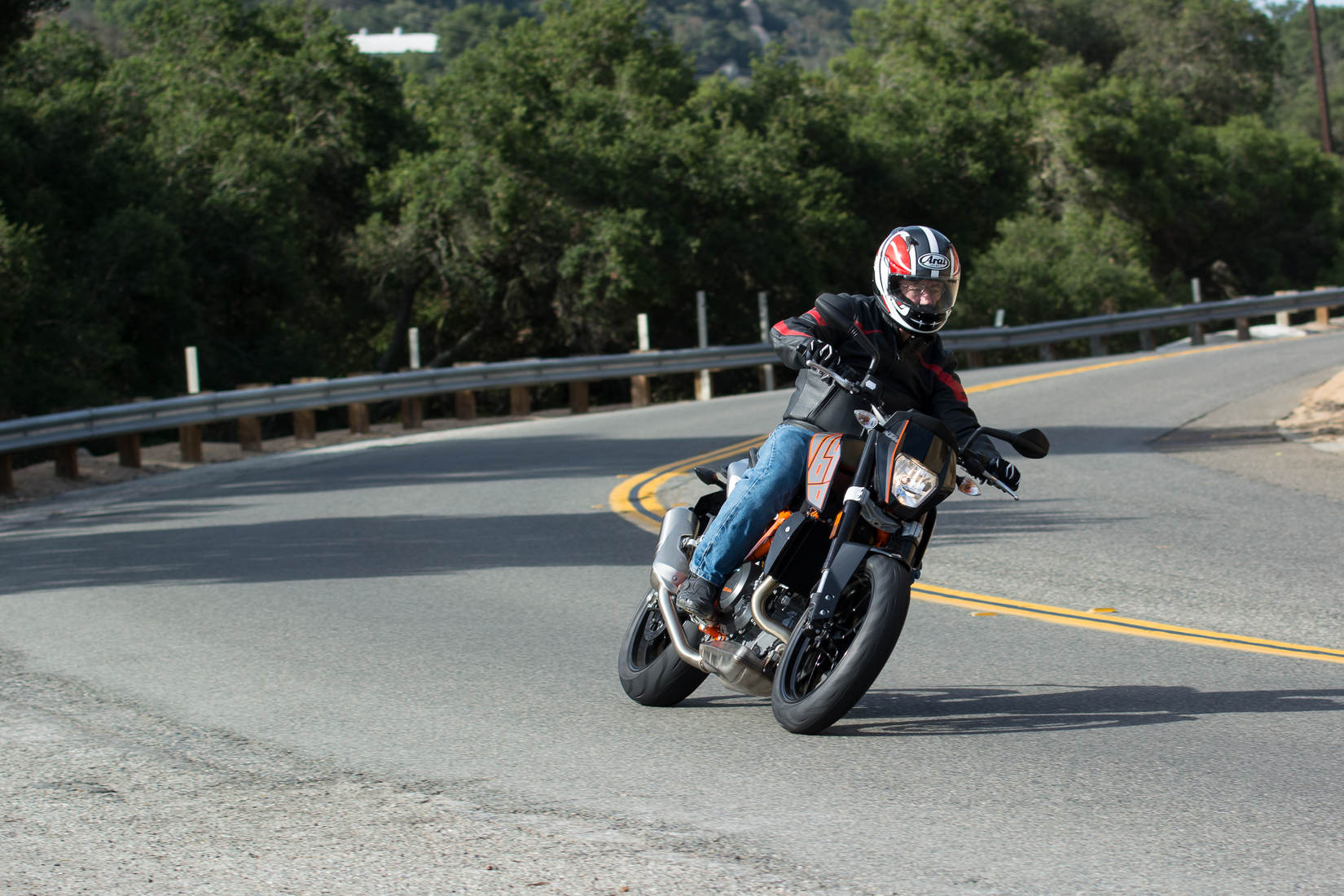 2014 Ktm 690 Duke Md Ride Review Motorcycledaily Com