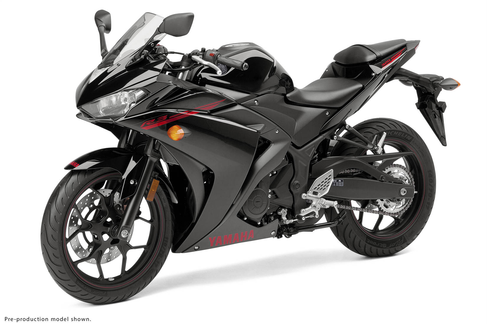 yamaha unveils 2015 yzf r3 goes big with 321cc parallel twin motorcycle. Black Bedroom Furniture Sets. Home Design Ideas