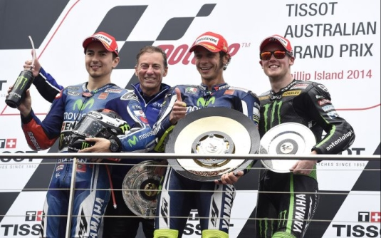 The Doctor Marks 250th Grand Prix in MotoGP with Perfect Phillip ...