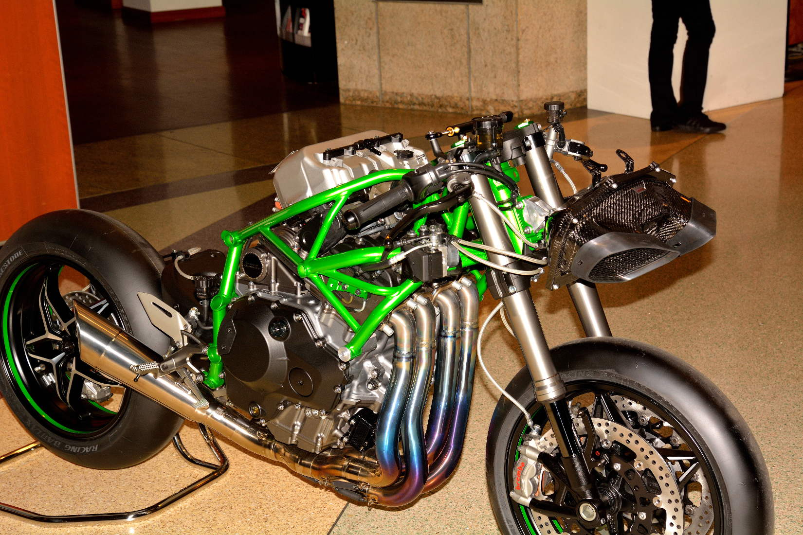 Kawasaki Ninja H2 A Closer Look With In Los Angeles