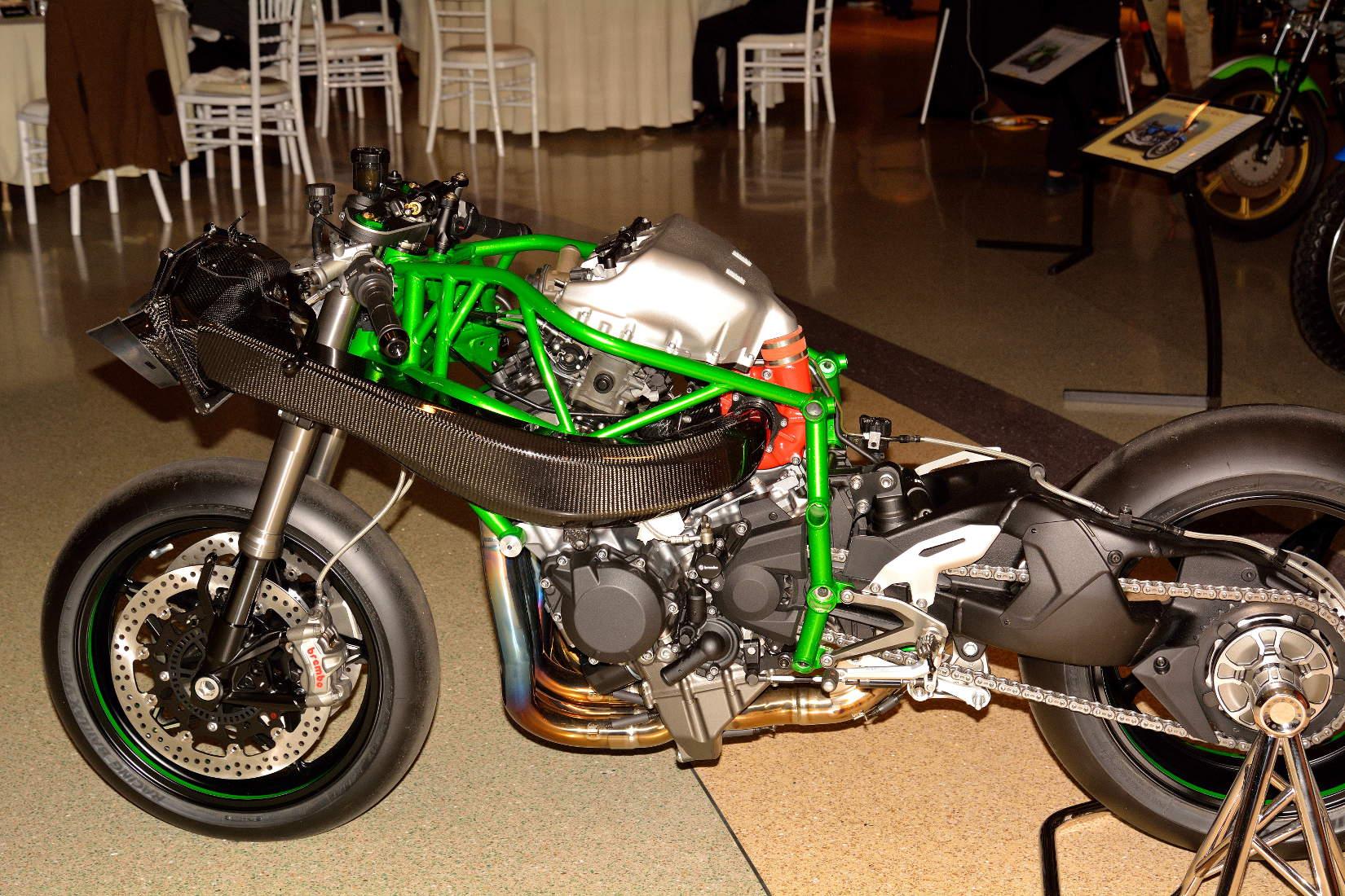 Kawasaki Ninja H2 A Closer Look With In Los Angeles