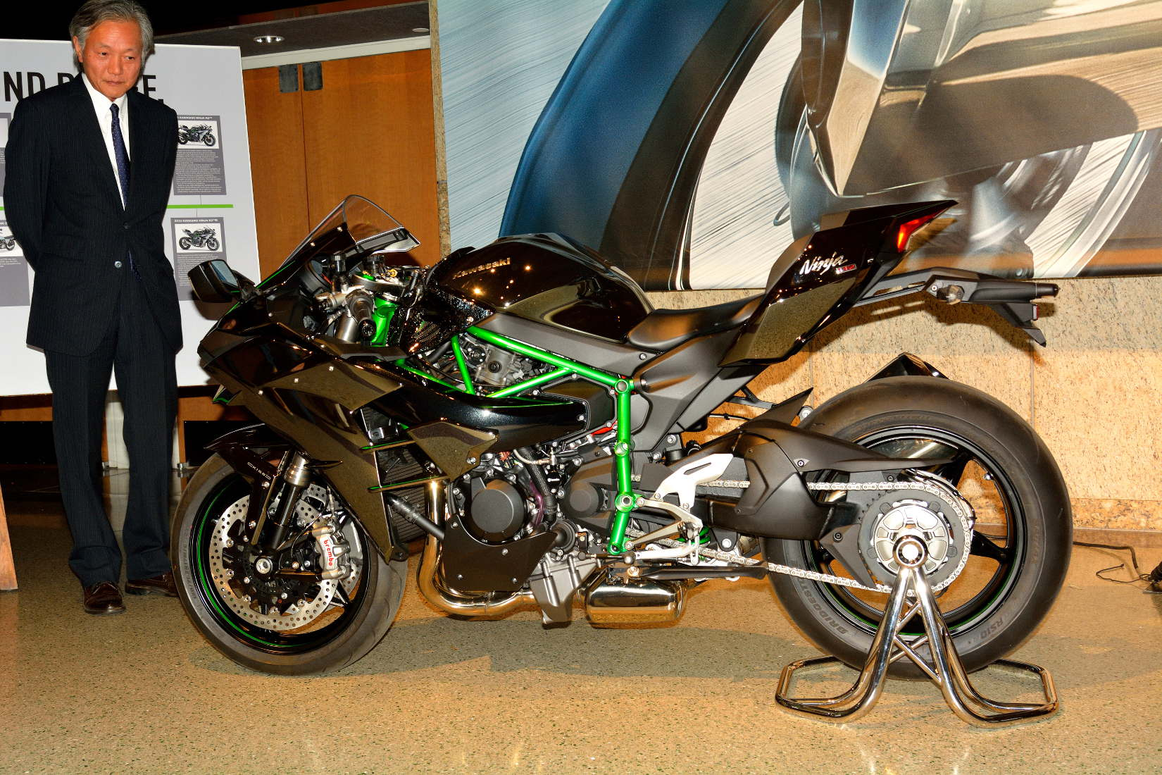 Kawasaki Ninja H2 A Closer Look With Kawasaki In Los Angeles