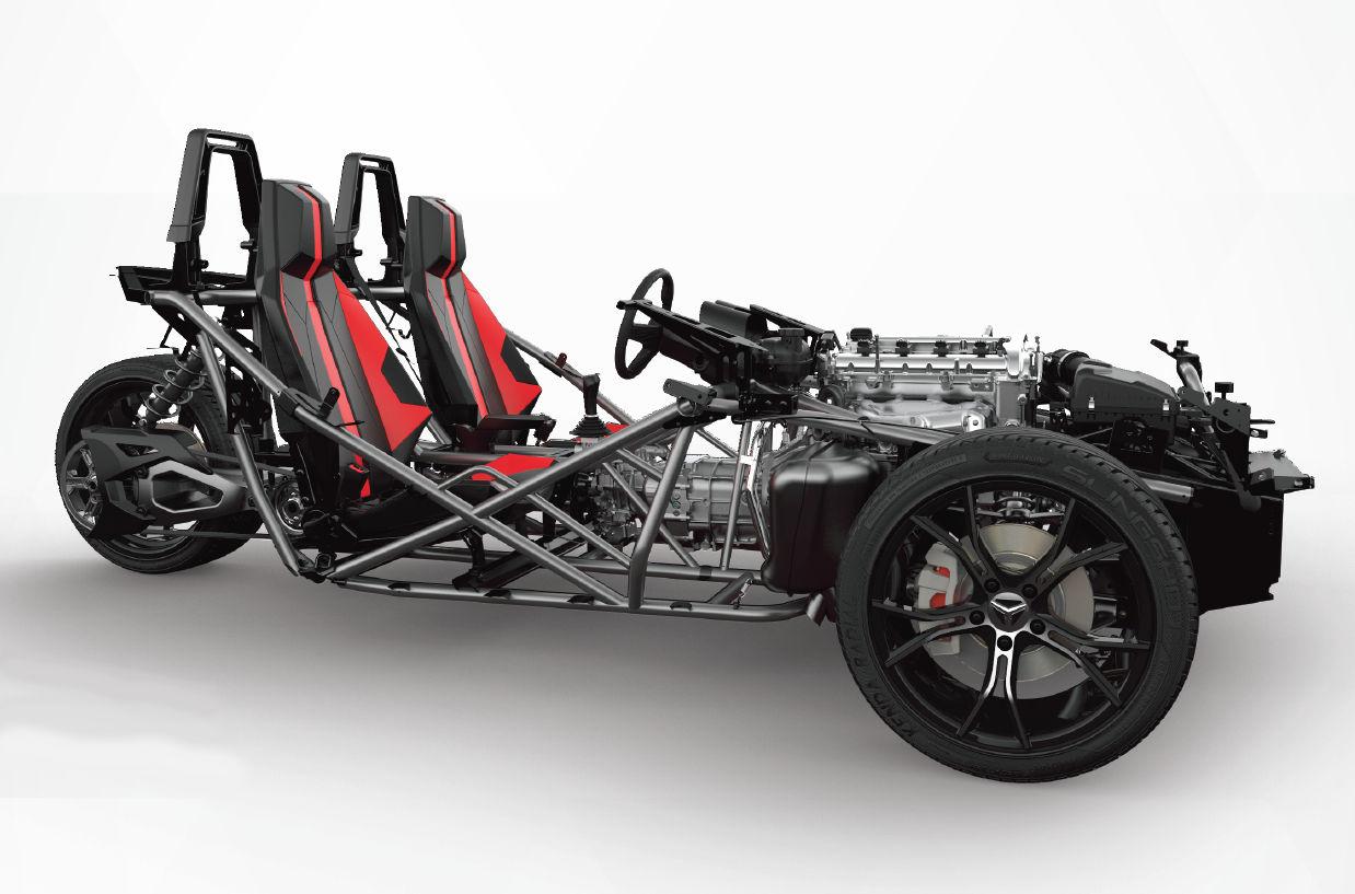 Slingshot Race Car Engine
