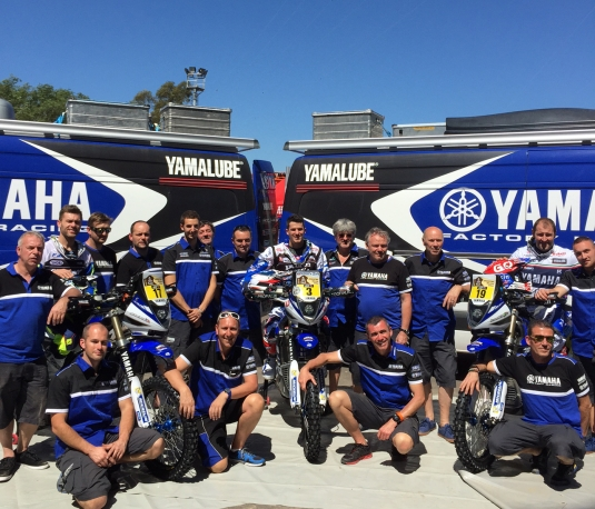 Yamaha & Dakar 2015
