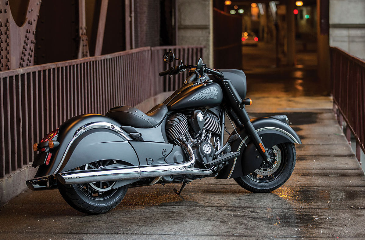 Indian Chief Dark Horse Least Expensive Chief Is Lightest