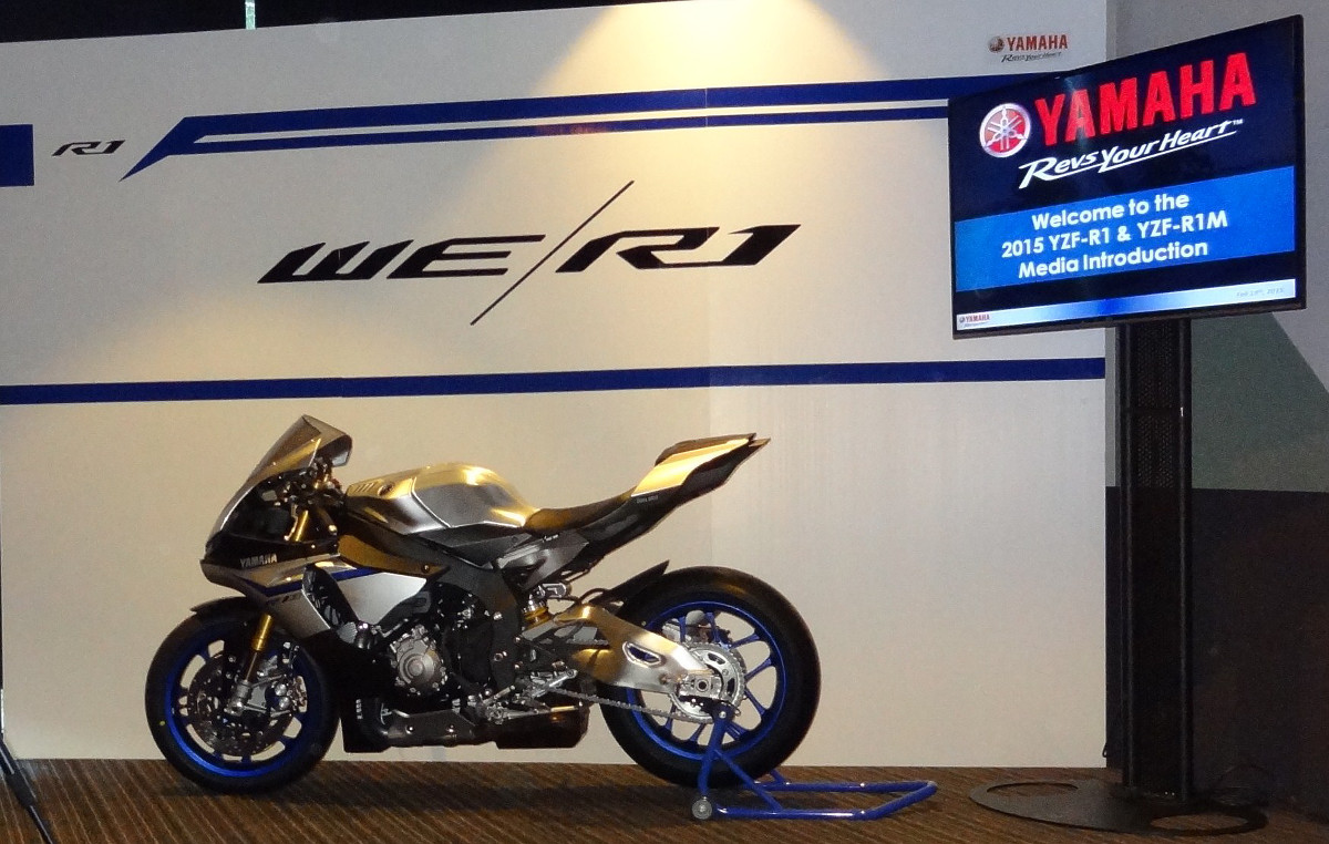 2015 Yamaha YZF R1 And R1M Press Launch, Report 1