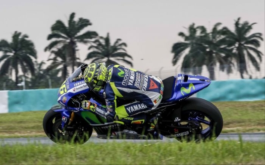 Rossi Day 1 Sepang