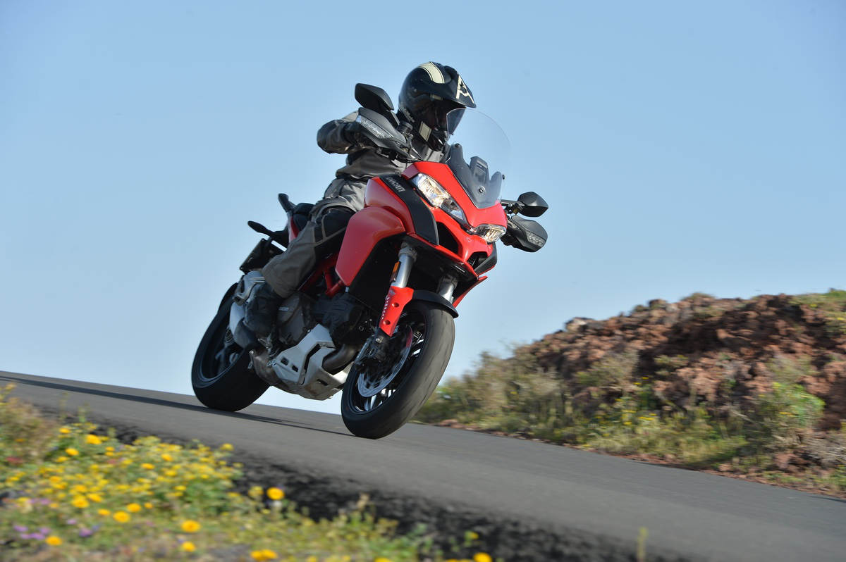 2015 Ducati Multistrada 1200 And 1200 S Md First Ride