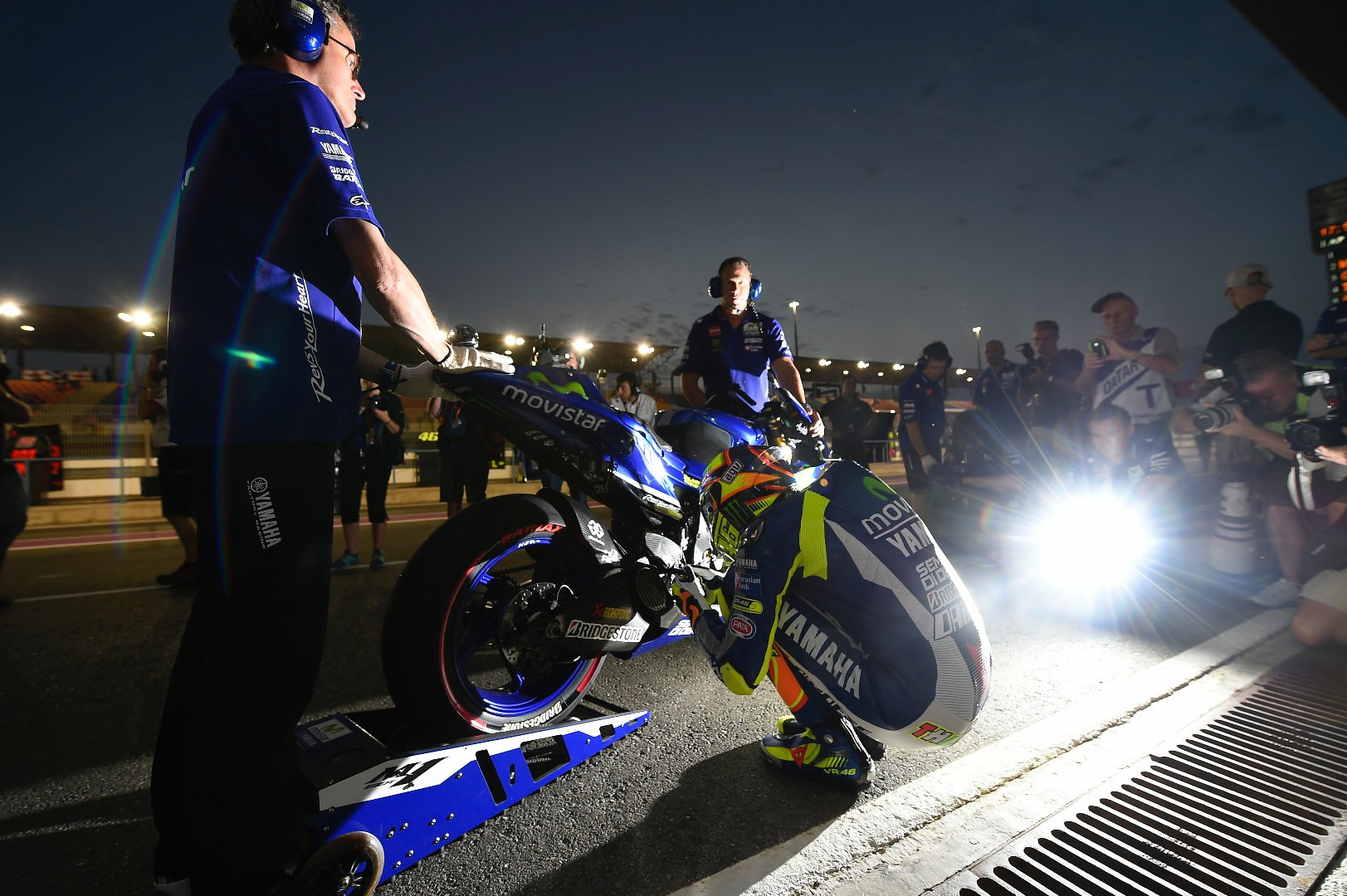 Challenging Free Practice Sessions for Movistar Yamaha MotoGP at Qatar - MotorcycleDaily.com ...