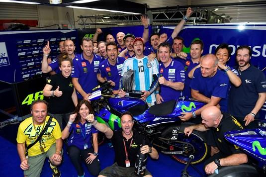 Rossi Argentina GP Win