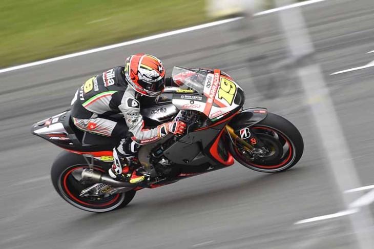 Aprilia Racing Gresini 062615