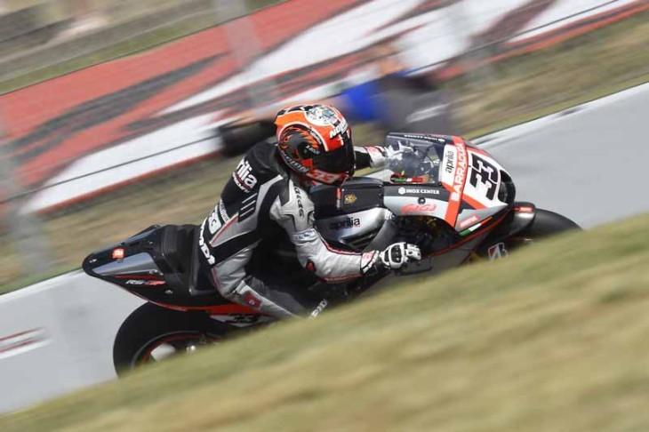 Aprilia Racing Team Gresini 061315
