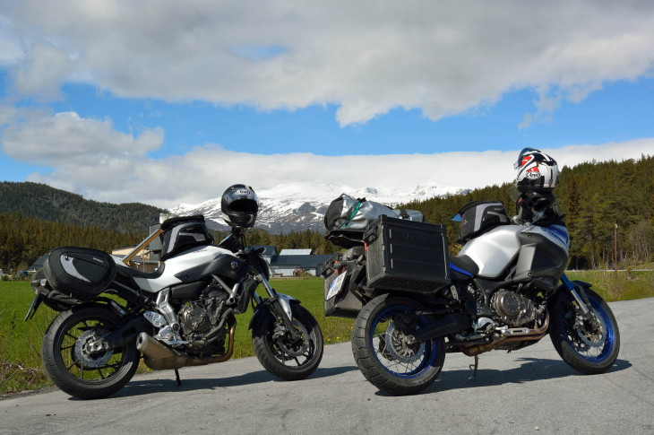Leaving Fagernes, the high mountain pass awaits.